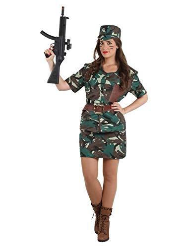 DISBACANAL Disfraz de Militar Mujer - Único, S: Amazon.es ...
