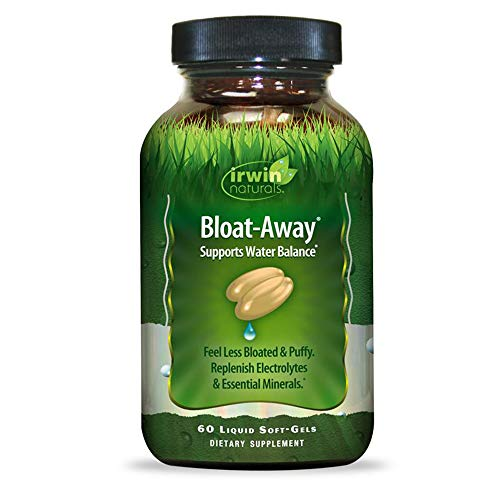 Irwin Naturals Bloat-Away Relief Water Balance Support Replenish Electrolytes & Essential Minerals - 60 (180 Total) Soft-Gels - 3 Pack Bundle with a Lumintrail Pill Case by Irwin Naturals (Image #5)