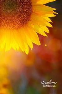 """Sunflower Journal: (Notebook, Diary, Blank Book) 6x9"""""""