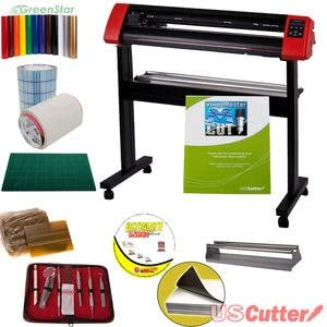 31.5 uscutter laserpoint II Bundle – Sign de cortador de vinilo Plotter de corte con diseño & Cut Software: Amazon.es: Oficina y papelería