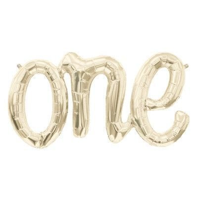 one-balloon-banner-light-gold-celebration-balloon-30-inches-long