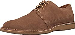 Sperry Top-Sider Mens Gold Norfolk Oxford w/ ASV Tan Suede Oxford 9.5 M (D)
