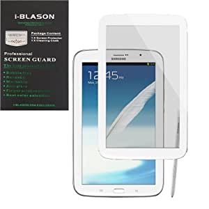 i-Blason HD Matte Bubble Free Screen Protector for Samsung Galaxy Note 8.0 Tablet N5100/N5110 4G LTE Wifi Reusable Anti Glare (White)