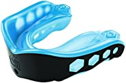 Shock Doctor Gel Max Convertible Mouth Guard, Blue/Black, Adult