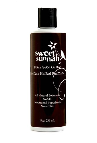 Amazon Com Sweet Sunnah S Black Seed Oil And Henna Shampoo Made