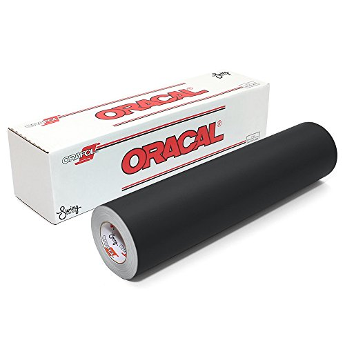 ORACAL 651 Permanent Vinyl, Matte Black