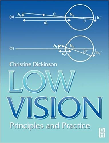 Low Vision: Principles and Practice by Christine Dickinson (1998-11-03)