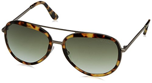 53P FT0468 58 de Sol 58 Unisex Tom mm Gafas Ford Marrón Adulto w5yaqaZEC