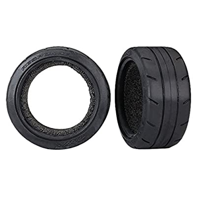 "Traxxas 8370 1.9"" Response Touring Tires with Foam Inserts (Rear): Toys & Games"