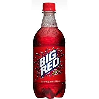 Big Red Soda Soft Drink, 20-Ounce (Pack of 24)