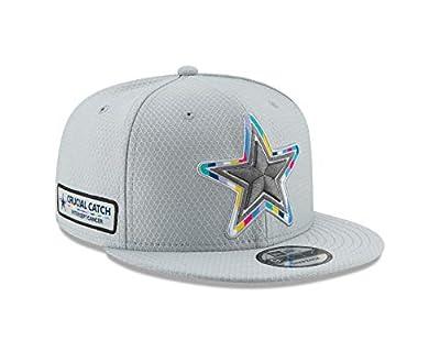 New Era Dallas Cowboys Crucial Catch 9FIFTY Snapback Adjustable Hat – Gray