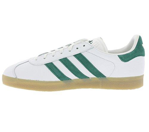 ... adidas Originals Herren Gazelle S76228 Gymnastikschuhe, Schwarz Bianco ( Vinwht/Cgreen/Gum4) ...