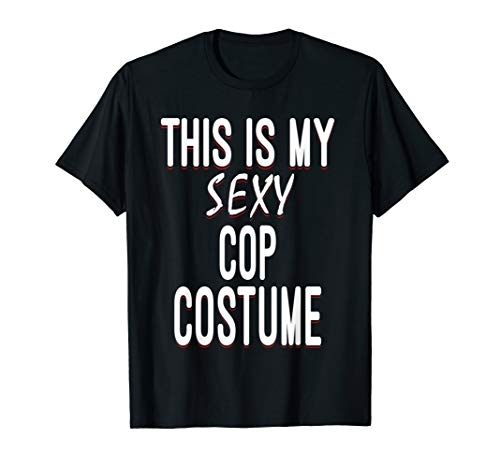 Sexy Cop Lazy Halloween Costume Funny Easy Outfit]()