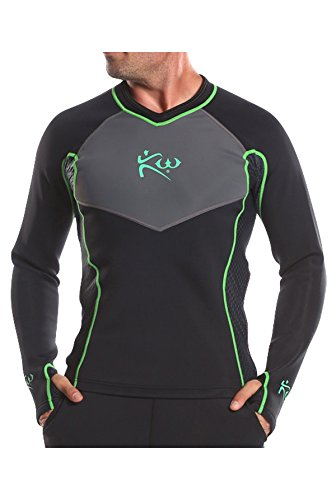 New Mens- Kutting Weight (cutting weight) neoprene weight loss sauna shirt (XL)