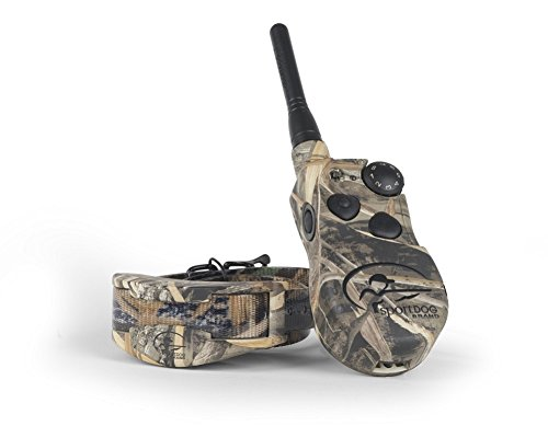 SportDOG Brand WetlandHunter 1825 Remote Trainer - 1 Mile Range - Waterproof, Rechargeable Dog Training Collar in Camouflage with Tone, Vibration, and Shock by SportDOG Brand