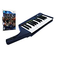 Wii Rock Band 3 Wireless Keyboard and Software Bundle - Wireless Edition