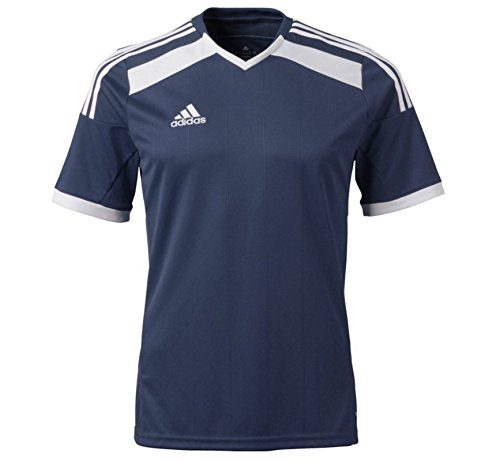 adidas Youth ClimaCool Regista 14 Soccer Jersey Shirt by (Large) Navy (Regista Jersey)