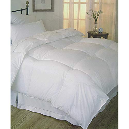 National Sleep Products All-Season 230 Thread Count Down Alternative Comforter White Queen