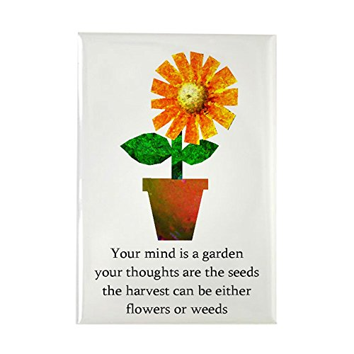 Magnet Rectangle Garden (CafePress - Spiritual Gardening - Rectangle Magnet, 2