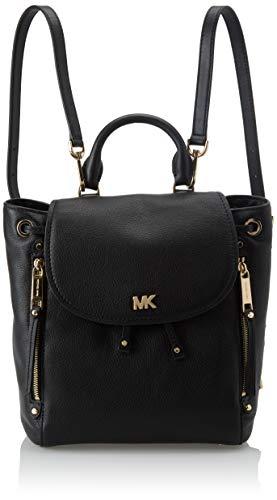 Michael Kors Womens Evie Backpack Handbag Black (BLACK)