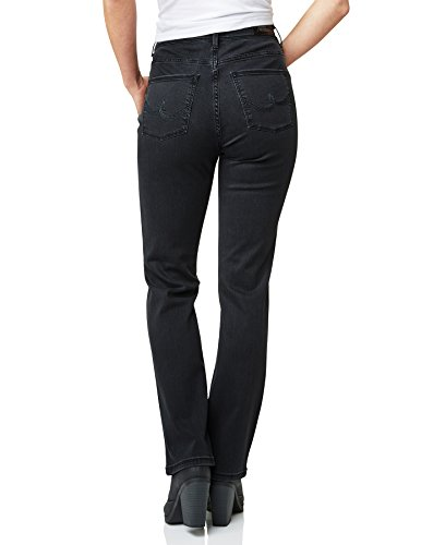 00 Schwarz Pioneer Black Noir Jeans Femme Betty Droit w0zHq