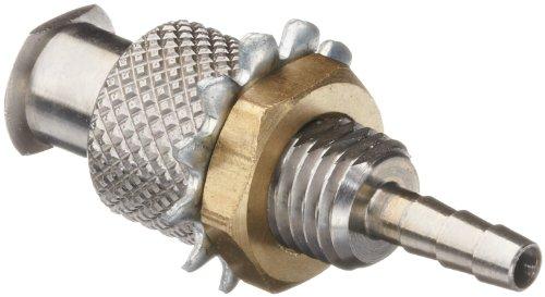 Luer Stainless Steel 316 Female Bulkhead Adaptor, For 3/32