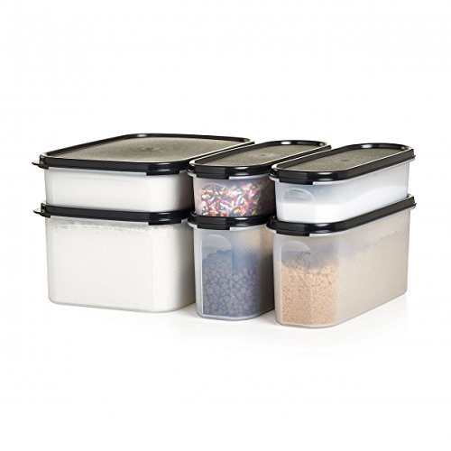 Baking Storage Container Center Modular Mates Tupperware 6 Piece