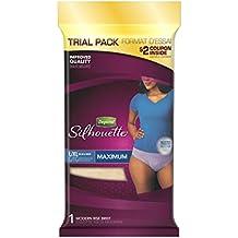 Depend Silhouette Incontinence Underwear for Women, Maximum Absorbency, Purple