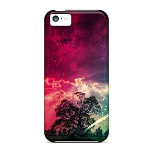 High Quality ChrismaWhilten Falling Star Skin Cases Covers Specially Designed For Iphone - 5c