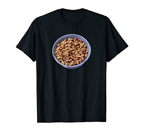 Black-eyed Peas Beans Funny Pun Halloween Costume T-Shirt -