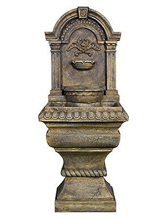 Antik Brunnen Springbrunnen Gartenbrunnen Wandbrunnen Amazonde Garten