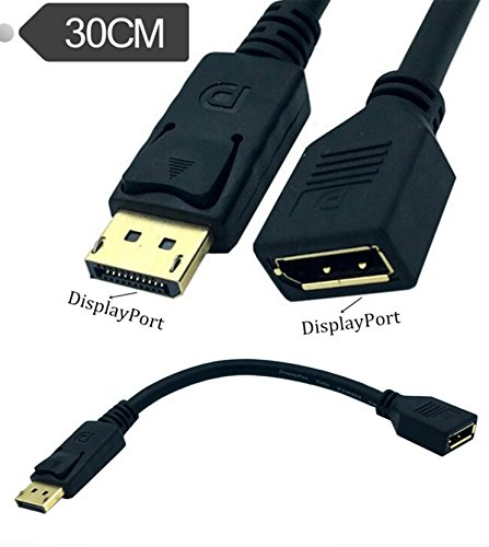 30cm Mini DisplayPort to DisplayPort Adapter Cable - 3