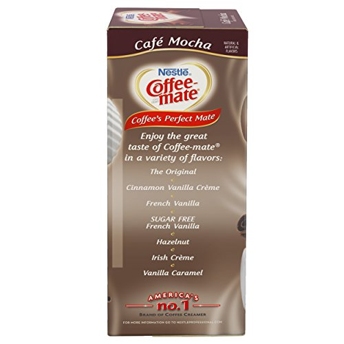 NESTLE COFFEE-MATE Coffee Creamer, Cafe Mocha, liquid creamer singles, Pack of 200 by Nestle Coffee Mate (Image #4)