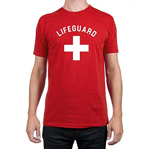 Lifeguard Costume Halloween Save Life At Sea Life Saver Danger Emergency Baywatch Handmade T-Shirt Hoodie Long Sleeve Tank Top Sweatshirt]()