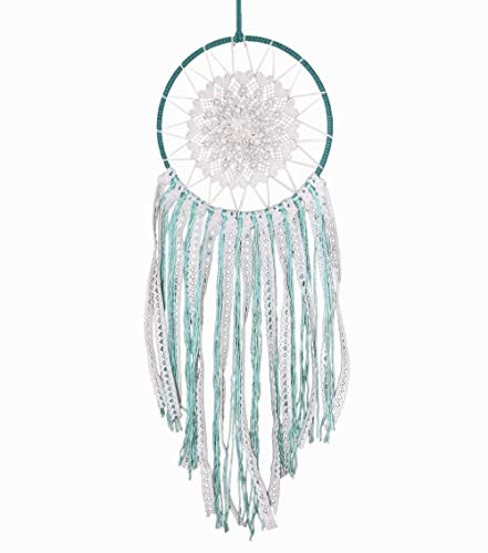 Mint and White Dream Catcher 6