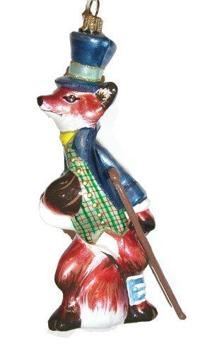 Christbaumschmuck Fuchs Marchen Weihnachtskugel Glas Mundgeblasen