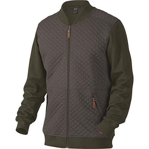 Quilted Mens Hooded Zip Sweatshirt - 6