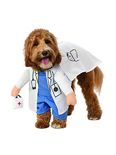 Rubie's Walking Vet Pet Costume, Large -