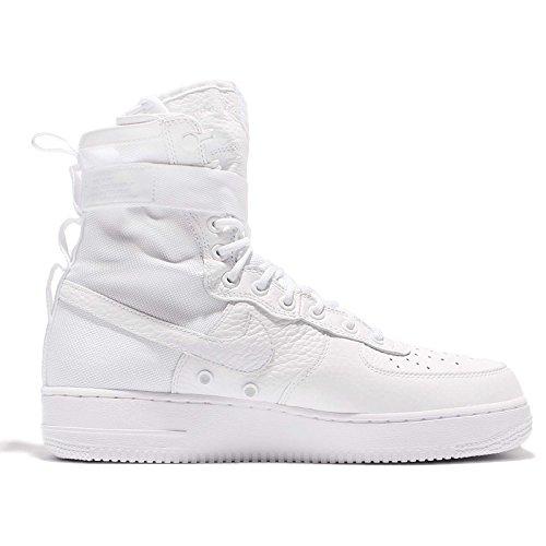Nike Menns Spesialfelt Air Force 1 Qs Hvit Complexcon Eksklusive Sz Åtte Oss