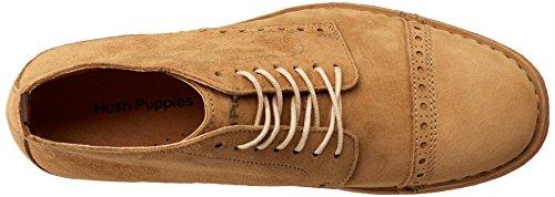 Hush Puppies Leo Desert Ii, Men's Desert Boots Brown (Camel Suede)