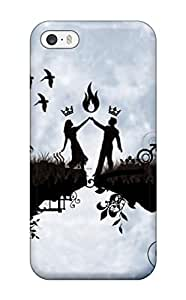 Hot Iphone Case - Tpu Case Protective For Iphone 5/5s- Love Pair Dance In Moon Light