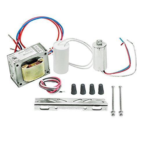 50W HPS Ballast ANSI S68 Includes Capacitor Ignitor and Bracket Kit Pre-Wired Plusrite 7325 - 120v High Pressure Sodium Ballast