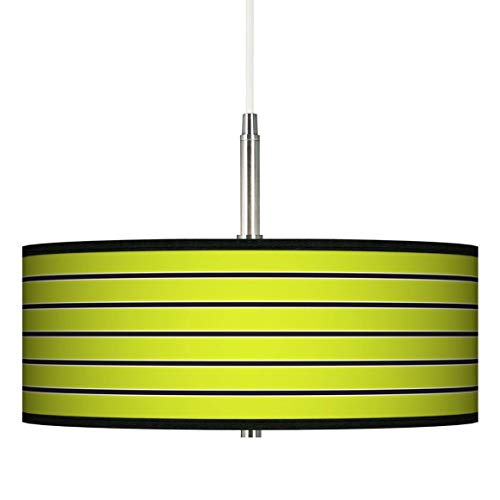 Lime Green Pendant Light Shade in US - 9