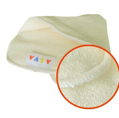 Amazon.com : ALVABABY pañales de tela con 4 capas de fibra de bambú antibacteriana fuerte absorbente 12pcs 12MB-ES : Baby