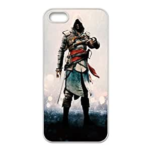 Assassins Creed Black Flag iPhone 5 5s Cell Phone Case White Z1812968