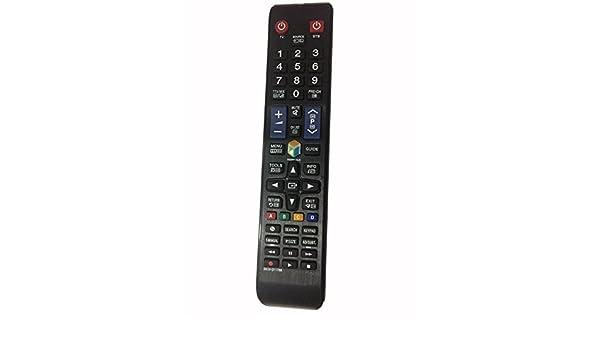 meide BN59 – 01178B Samsung mando a distancia para SAMSUNG Smart TV LCD mando a distancia de fútbol Smart Hub bn5901178b ue40h5500akxxu ue40h5505akxxe UE40H5570: Amazon.es: Electrónica