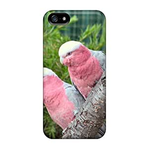 New Arrival Cover Case With Nice Design For Iphone 5/5s- Pink Galahs