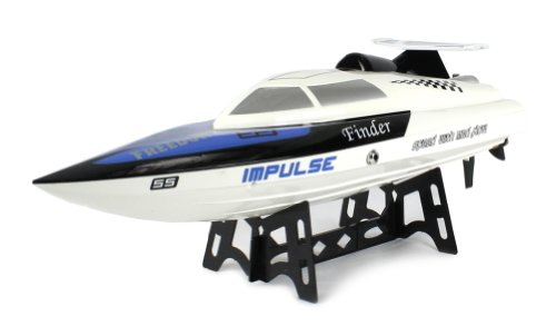 Impulse-Freedom-SS-Electric-RC-Speed-Boat-24GHz-15-MPH-RTR-Ready-To-Run-High-Speed-Boat-Colors-May-Vary