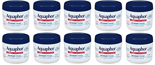 Aquaphor Advanced Therapy Healing Ointment brtfEy Skin Protectant, 10 Pack (14 Ounce) by Aqusdhor