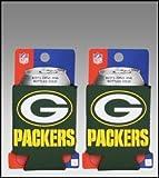 Cheap SET OF 2 GREEN BAY PACKERS NFL CAN KADDY KOOZIES by Kolder